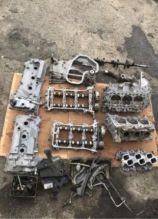 разбор двигателя camry toyota 40 2gr-fe гбц распредвал ванос