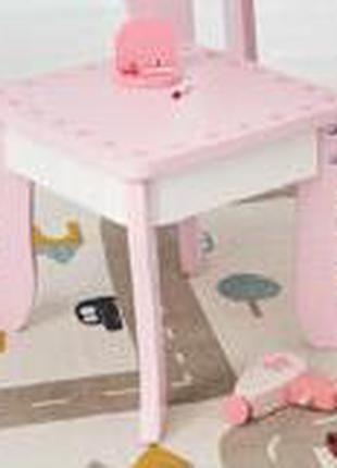 Детский стульчик/табурет Сердечки для девочки Playtive Германия.