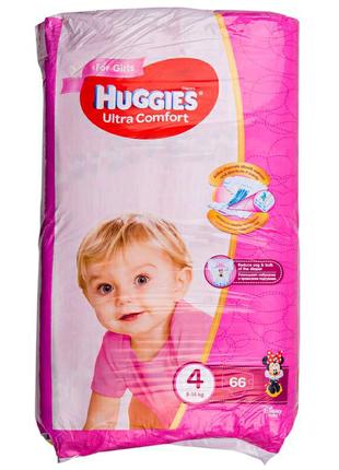 Подгузники для детей HUGGIES Ultra Comfort 4