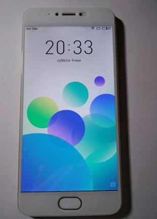 Meizu pro 6 Gold 4/32 ГБ