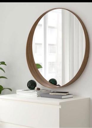 Зеркало настенное. Круглое зеркало.