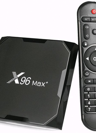 Smart TV Box Медиаплеер Android 9.0 X96 Max+ 2/16 Gb