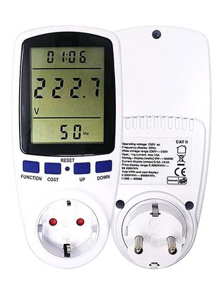 Ваттметр энергометр измеритель мощности счетчик энергии вольтметр