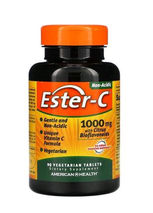 Ester-C, витамин с  1000мг, 90вегетарианских таблеток