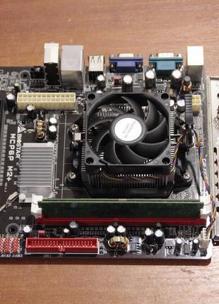 "AMD Athlon II X2 245 2.9GHz BOX + Biostar ""MCP6P M2+"" + 3Gb RAM"