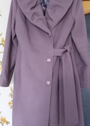 Демисезонное женское пальто, 48 размер.