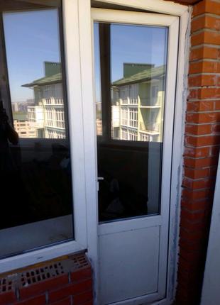 Вікна балконні