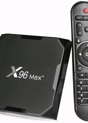 SMART TV медиаплеер X96 Max+ 4/32 ГБ Android 9.0