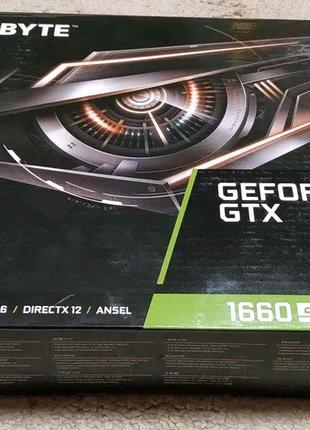 Gigabyte GeForce GTX 1660 Super OC 6GB GDDR6 запечатна!