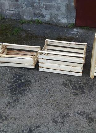 Деревянные ящики для капусты