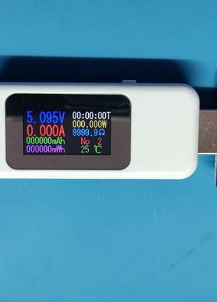 USB тестер Keweisi KWS-MX18, цветной экран