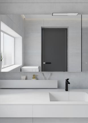 3D дизайн-проект ванной и туалета