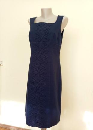 Красивенное платье с дорогим гипюром