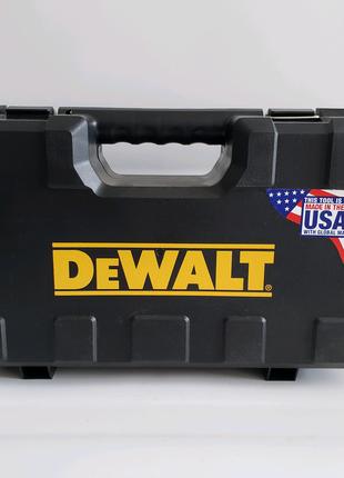 Ящик чемодан кейс DeWALT для шуруповерта дрилі імпакта