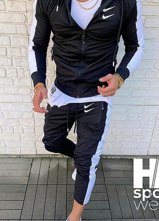 Комплект ( спортивный костюм+ шорты + футболка) Nike