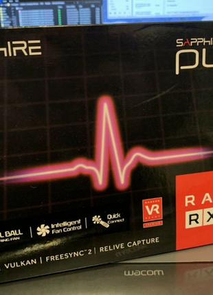 Sapphire pulse rx 580 8gb radeon
