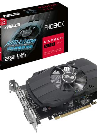 Asus PCI-Ex Radeon 550 Phoenix 2GB GDDR5