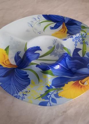 Декоративная сувенирная тарелка. Для фруктов