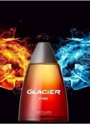 Туалетная вода glacier fire глэйшер фаэ код 34478 орифлейм 100 мл
