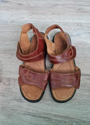 Босоножки кожа josef seibel сандалі босоніжки