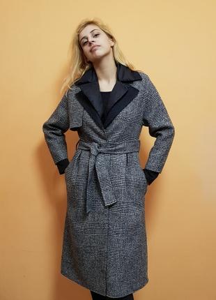 Кашемировое пальто Loro Piana +  пуховая жилетка