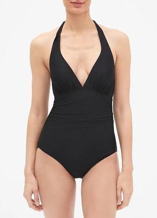 Сдельный черный женский купальник монокини gap размер xs оригинал