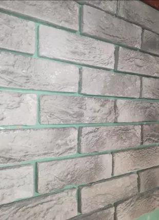 Гипсовая плитка Венеция/ искусственный камень/ плитка под кирпич