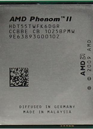 AMD AM2+/AM3 Phenom ii x6 1055T 95W,1055Т/1090T 125w есть опт