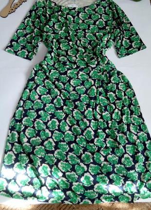Платье нарядное 52 размер миди новое осеннее футляр с рукавом ...