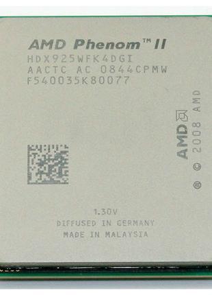 Процессор AMD Phenom ii x4 925