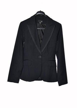 Стильный пиджак приталенный от h&m uk12