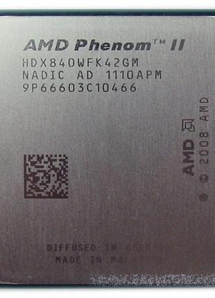 Процессор AMD Phenom ii x4 840 3.2 Mhz 95W