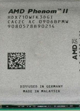 Процессор AMD Phenom ii x3 710