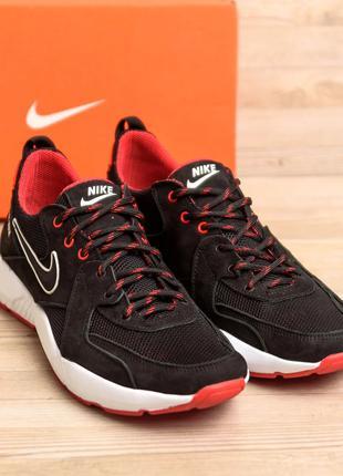 Мужские Летние Кроссовки Nike Из Натуральной Замши(40-45р)