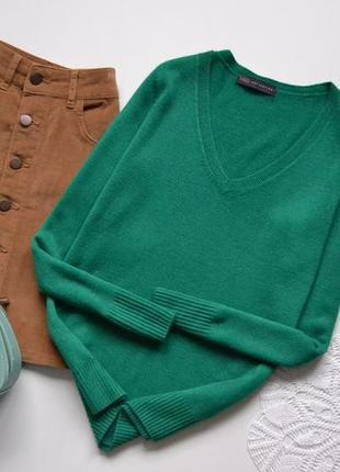 Кофта базова зелена marks&spenser