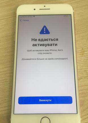 IPhone 7 Plus на запчасти симку не видит. Модель A1784