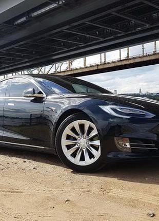 059 Tesla model S 75D 2017 аренда авто прокат без водителя
