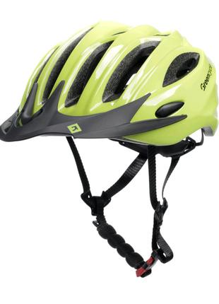Шолом велосипедний Green Cycle Marvel M 54-58 Жовтий HEL-24-65