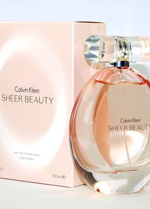 Calvin Klein Sheer Beauty Оригинал EDТ  7 мл Затест