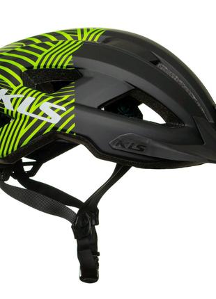 Шолом велосипедний KLS Daze S/M 52-55 Чорно-зелений 8585053808435