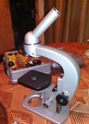 Микроскоп МБД-1 новый в чемодане