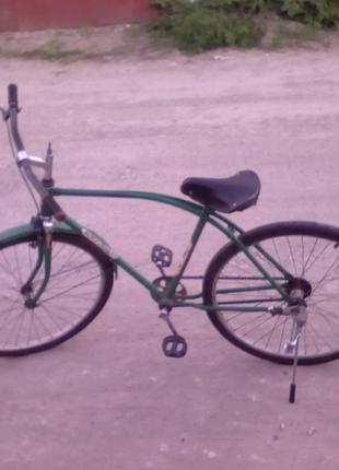 Велосипед орленок- на ходу