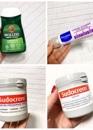 Омега Mollers, Судокрем, Mustela крем