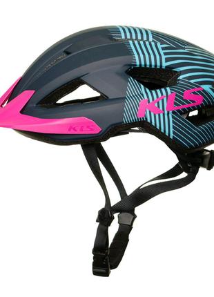 Шолом велосипедний KLS Daze S M L  Темно-синій 8585019398970