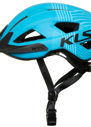 Шолом велосипедний KLS Daze S M Блакитний 8585019399045