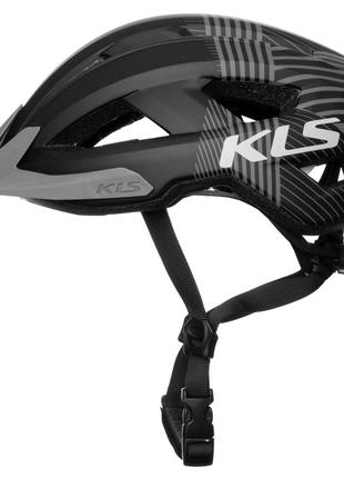 Шолом велосипедний KLS Daze S M L Чорний 8585019399106