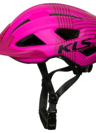 Шолом велосипедний KLS Daza S M Рожевий 8585019399076