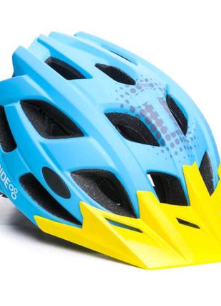 Шолом велосипедний ONRIDE Force M Blue (55-58 см)