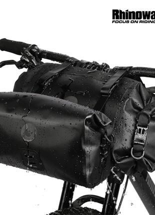 Сумки руль водонепроницаемые Rhinowalk 12л X21998 вело байкпакинг