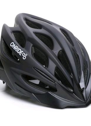Шолом велосипедний ONRIDE Mount M L Чорний 69078900020
